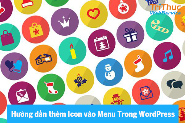 thêm icon vào menu wordpress