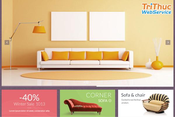 Top mẫu thiết kế website nội thất đẹp chất lượng
