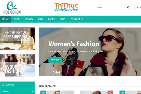 Top 5 mẫu website thời trang bán hàng tuyệt vời nhất