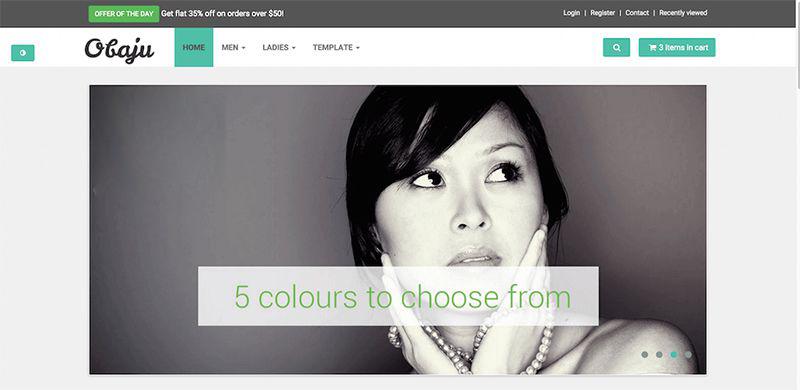 website thời trang Obaju