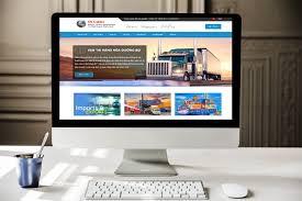 Thiết Kế Website Công Ty Vận Tải Chuyên Nghiệp