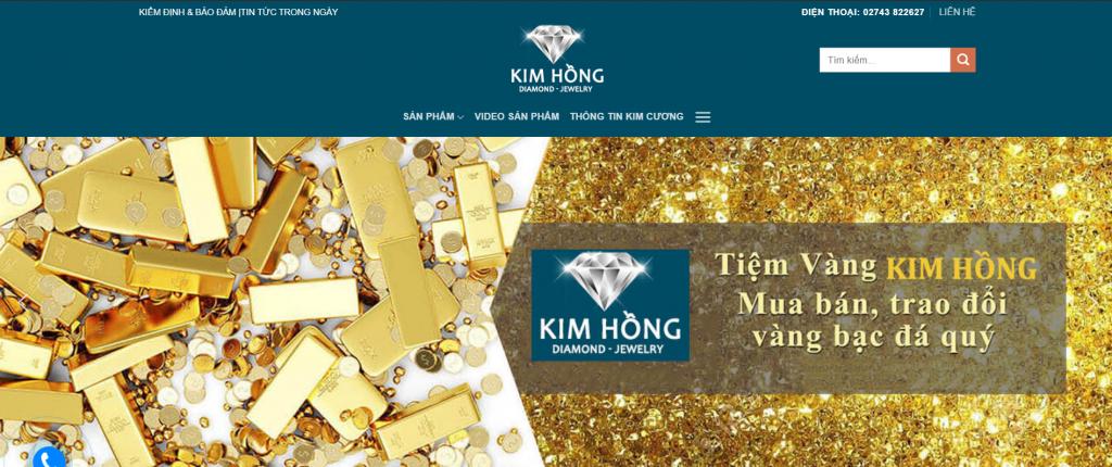 website bán vàng